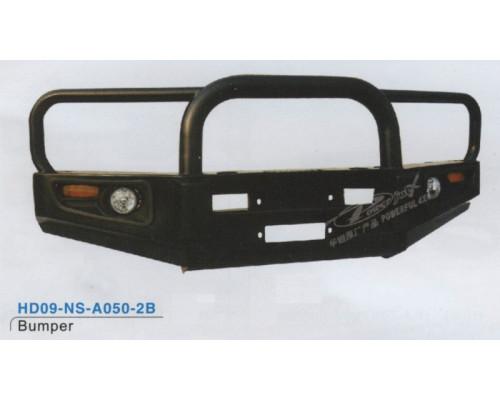 Бампер передний NISSAN SAFARI Y62 (2013)