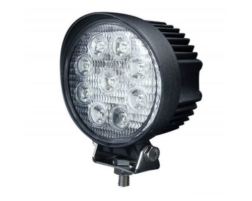 Фара светодиодная 27W 9 диодов по 3W