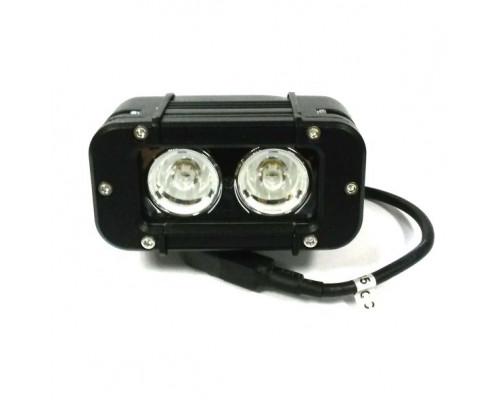 Фара светодиодная 20W 2 диода по 10W