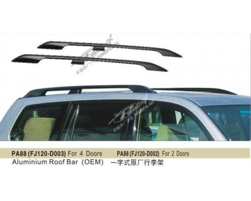 Рейлинги TOYOTA LAND CRUISER PRADO 120 2003-2009