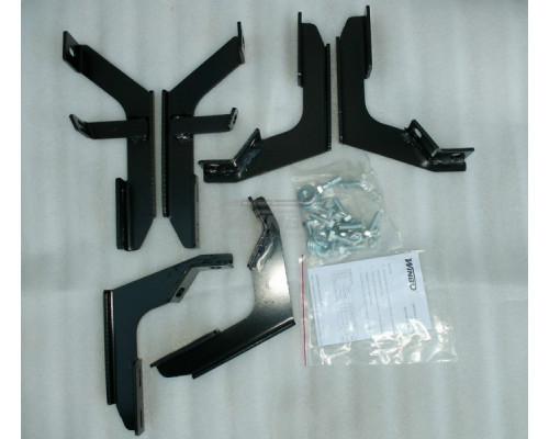 Кронштейны крепления порогов Mazda BT-50 2012+ / Ford RANGER 2012+