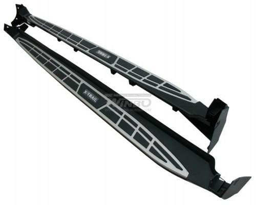 Подножки боковые Nissan X-TRAIL 14+