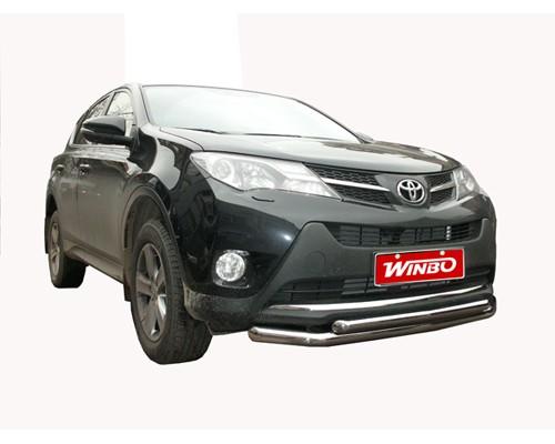 Защита переднего бампера Toyota RAV4 2012+