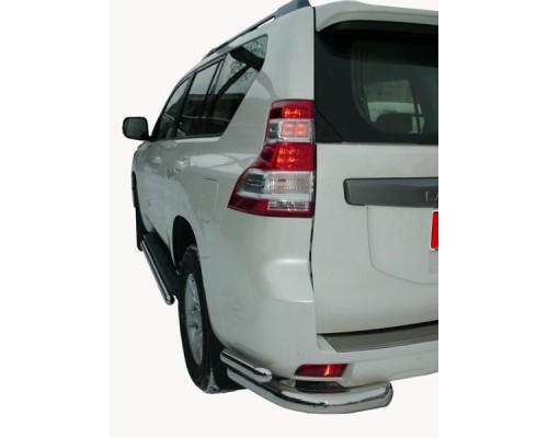 Защита заднего бампера Toyota LAND CRUISER PRADO 150