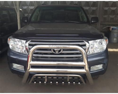 Защита переднего бампера Toyota LAND CRUISER 200, LEXUS LX570