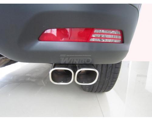 Насадка глушителя нерж. Peugeot 4008 2012+