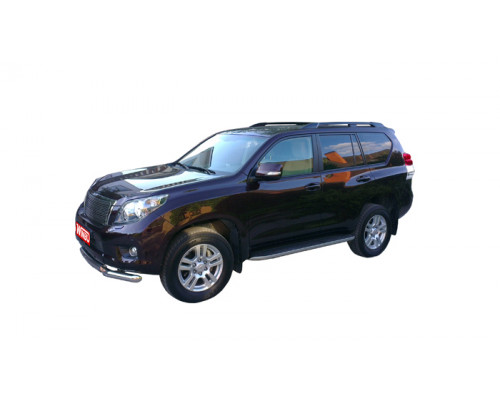Рейлинги Toyota LAND CRUISER PRADO 150 09+ (черные)
