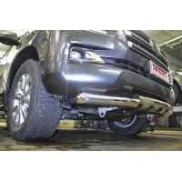 Защита переднего бампера Toyota LAND CRUISER 200 2016+