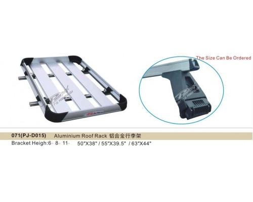Багажник алюминиевый универсальный 140x100см