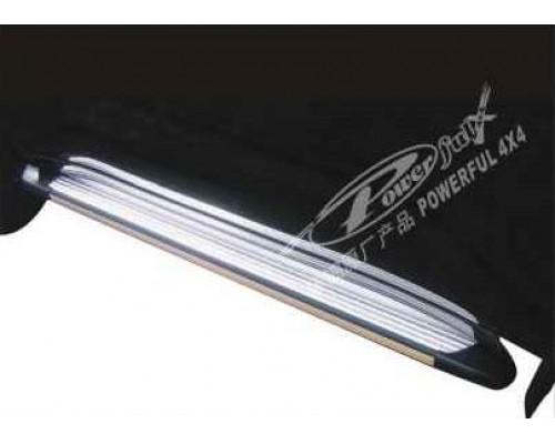 Подножки алюминиевые TOYOTA LAND CRUISER 200 с 2007 года