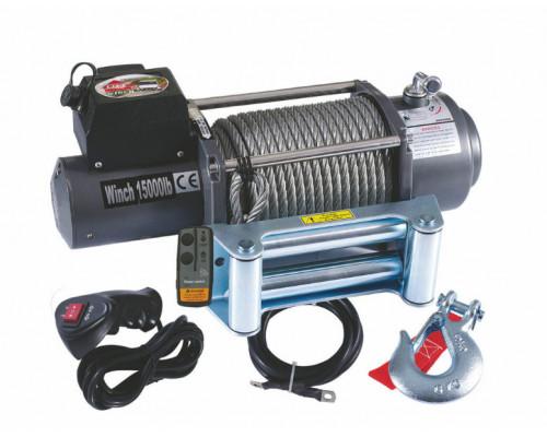Лебедка электрическая 15000lbs/7220 kg