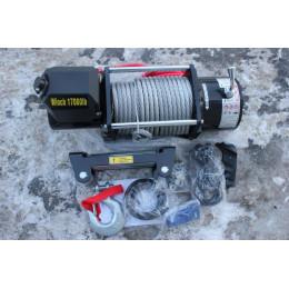 Лебедка электрическая 17000lbs/7620кг (блок управления влагозащищен IP66)