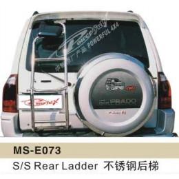 Лестница стальная MITSUBISHI PAJERO-3 V73,75,77,79 2004-2007