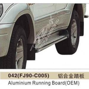 Подножки алюминиевые TOYOTA LAND CRUISER PRADO 90 1995-2002гг