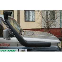Шноркель LLDPE TOYOTA Land Cruiser 75 с узким передом