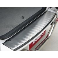 Накладка заднего бампера нерж. Toyota RAV4 09-12