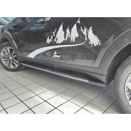 Подножки боковые Hyundai TUCSON 2016+