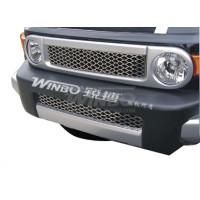 Решетка радиатора + решетка в бампер нерж. Toyota FJ CRUISER 07-08 (USA/EURO)