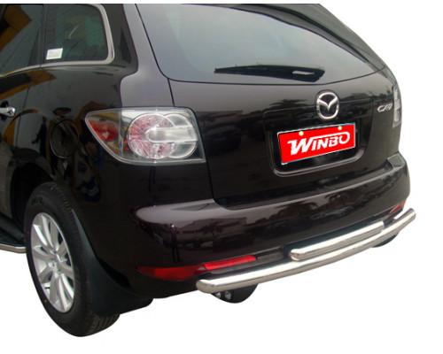 Защита заднего бампера Mazda CX-7