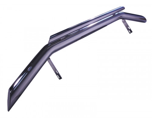 Защита переднего бампера нерж. Toyota LAND CRUISER FJ100 98-07 (76/48mm)