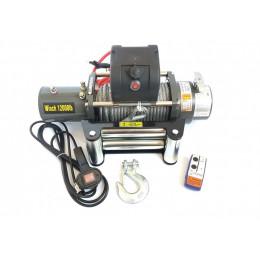 Лебедка электрическая 12V 12000lbs/5443кг