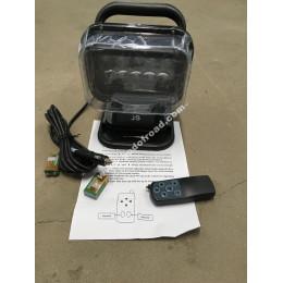 Фара-искатель 12V 50W (LED) с д/у Черный