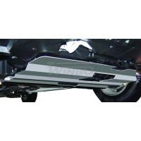 Защита картера алюм. Mitsubishi OUTLANDER XL 07+  V6  3.0L