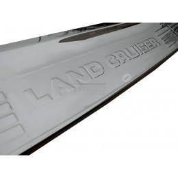 Накладка заднего бампера Toyota Land Cruiser 200 2013+