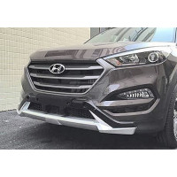 Накладка переднего и заднего бампера Hyundai Tucson 2016+