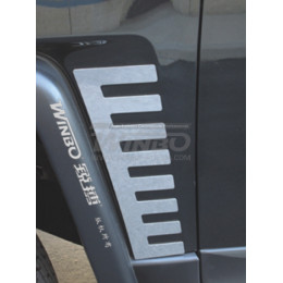 Задние и передние накладки кузова Toyota FJ CRUISER 2007+ (к-т 4шт.)