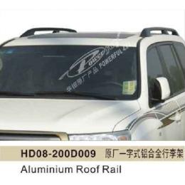 Рейлинги TOYOTA LAND CRUISER 200 (2007-2015) алюминиевые