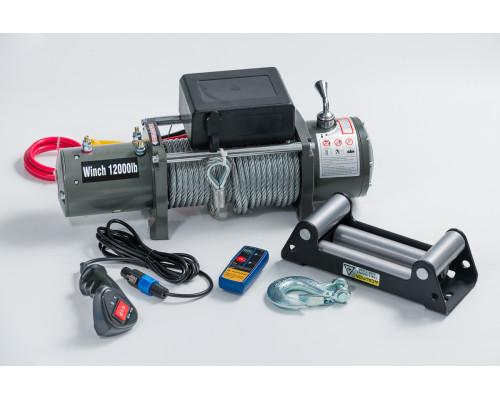 Лебедка электрическая 24V 12000lbs/5443 кг