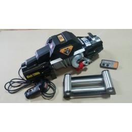 Лебедка электрическая 12V 12000lbs/5443кг (интегрированный блок управления и механизм влагозащищены (IP66))