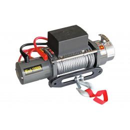 Лебедка электрическая 12V 12000lbs/5443кг не разборная (ЧУГУННЫЙ КЛЮЗ)