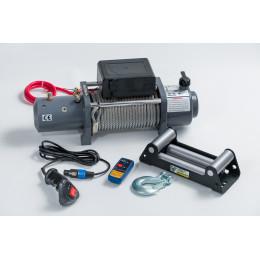Лебедка электрическая 12V 8500lbs/3825кг (блок управления и механизм влагозащищены (IP66)) GRIZZLY