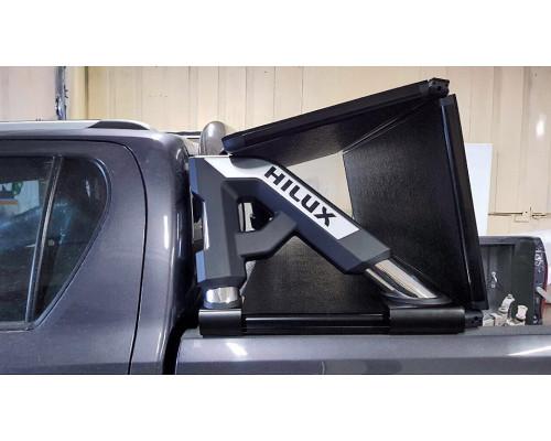 Крышка трехсекционная кузова пикапа TOYOTA HILUX REVO 2015+