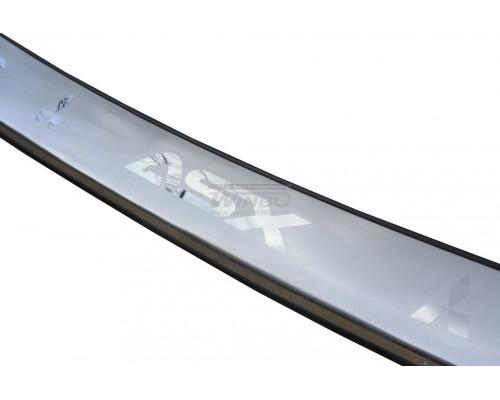Накладка заднего бампера нерж. Mitsubishi ASX 2010+