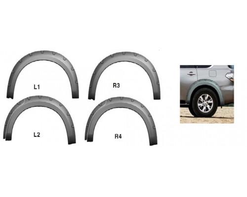 Расширитель колёсных арок (фендер) NISSAN Safari/Patrol Y62 (комплект 4шт)