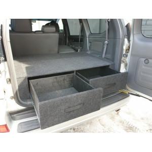 Органайзер в багажник TOYOTA Land Cruiser Prado 120 (Экспедиция)