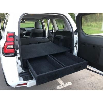 Органайзер в багажник TOYOTA Land Cruiser Prado 150 с 2018г (Лесник)