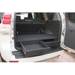 Органайзер в багажник TOYOTA Land Cruiser Prado 150 до 2018г (Экспедиция)