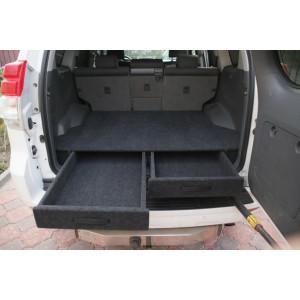 Органайзер в багажник TOYOTA Land Cruiser Prado 150 до 2018г (Лесник)