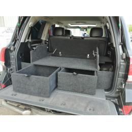 Органайзер в багажник TOYOTA Land Cruiser 200, LEXUS LX 570 (Экспедиция)