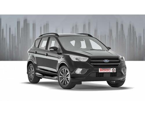 Рейлинги Ford KUGA II 2012-2019 (черного цвета)