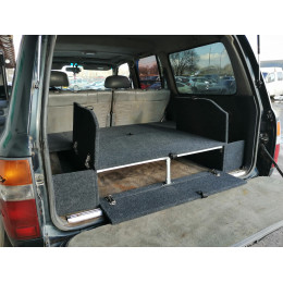 Органайзер в багажник TOYOTA Land Cruiser 80, Lexus LX450 (Стандарт+)
