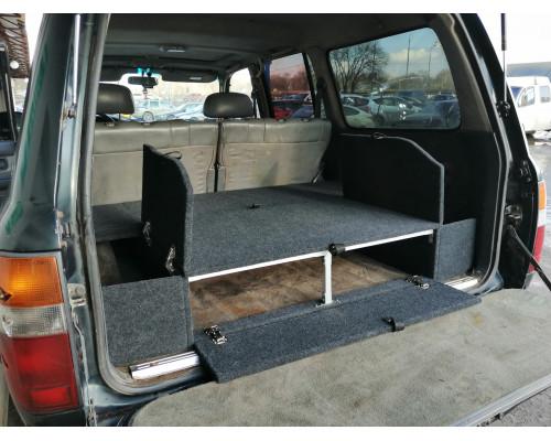Органайзер в багажник TOYOTA Land Cruiser 80 (Стандарт+)