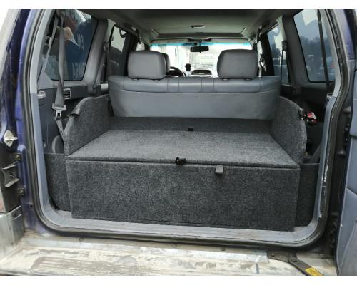 Органайзер в багажник TOYOTA Land Cruiser Prado 95 (Стандарт+)