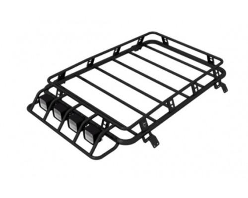 Багажник экспедиционный Chevrolet Niva SE с поперечинами (F-DESIGN)