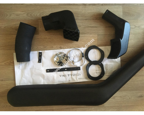 Шноркель LLDPE TOYOTA Hilux 106, 4Runner/Surf 130, GREAT WALL Deer, Safe, TIANYE Admiral
