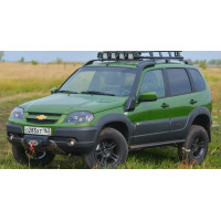 Шноркель Chevrolet Niva/Шевроле Нива GLS, GLC, LE+ с АБС (F-DESIGN)